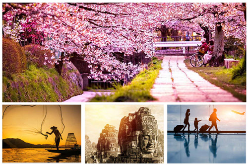 Vietnam, Cambodia, Japan, Myanmar, Indochina with the Asia specialists.