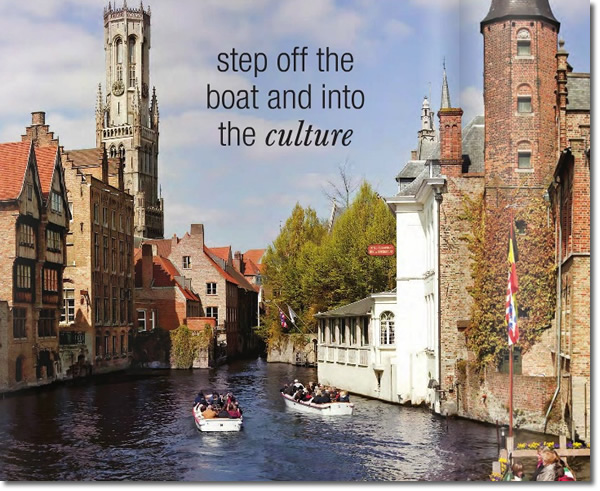 Get behind the scenes on a Collette River Cruise