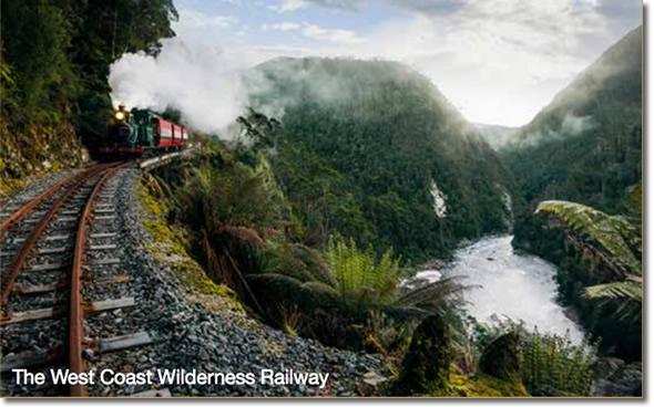 Tasmania's West Coast Wilderness Railway