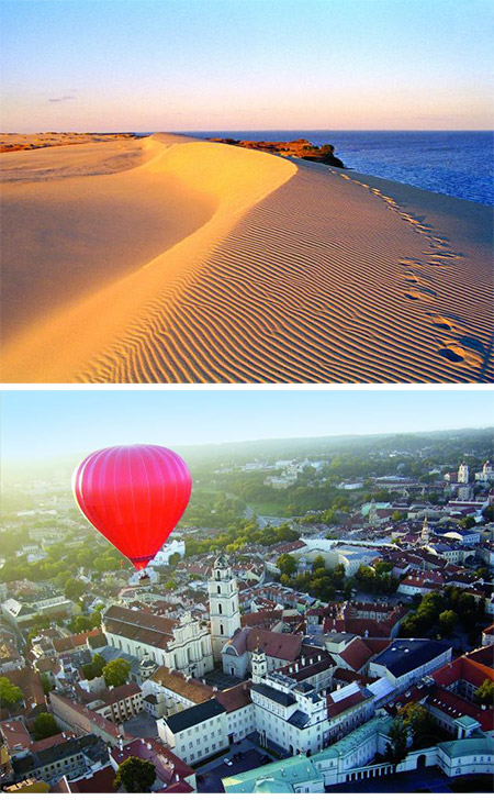 Tailor-made tours in the Baltics.