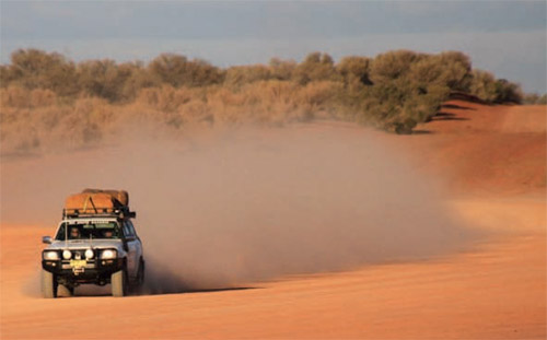 Award-winning 4WD small-group and tag-along tours